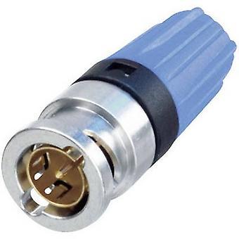 Neutrik NBNC75BLP9 BNC connector Plug, straight 75 Ω 1 pc(s)