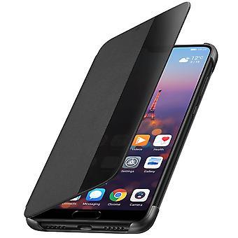Offizielle Huawei Smart View flip Case für Huawei P20 - schwarz