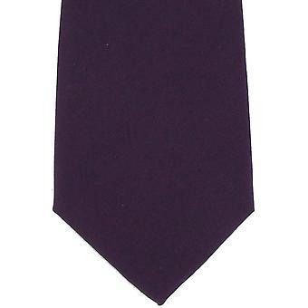 Michelsons de gravata de seda liso de Londres - roxo