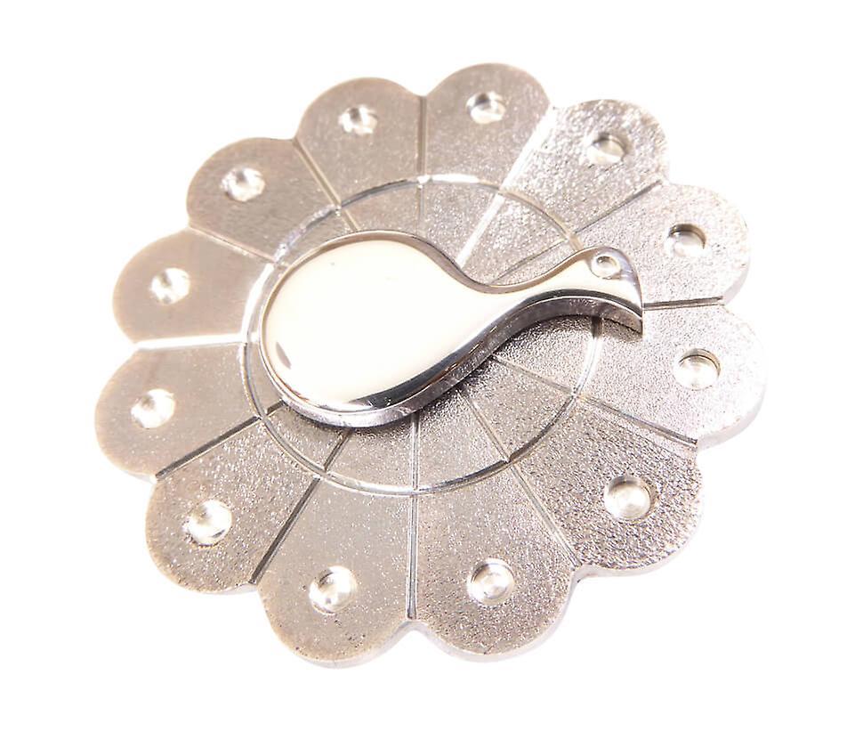 Zilveren pauw broche
