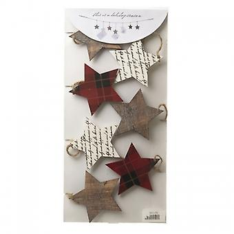 Heaven Sends Christmas Star Garland and Card Holder