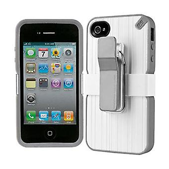 5 Pack -Puregear Utilitarian Smarphone Support System for iPhone 4/4S (White) - 02-001-01261