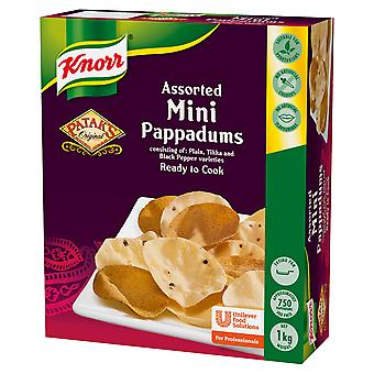 Knorr Pataks Assorted Mini Mixed Pappadums