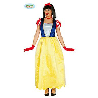 Lung albă ca zăpada rochie carnaval carnaval partid costum pentru femei Fairy Tales