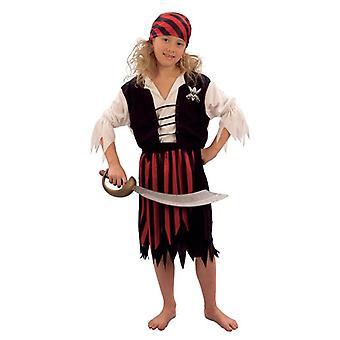 Pirat flicka liten.