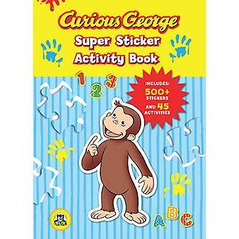 Neugierig George Super Sticker Activity Book - 9780547238968 Buch