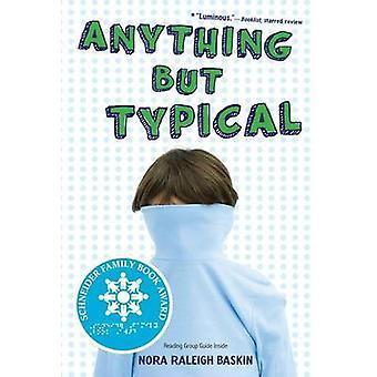 Nic, ale typowe przez Nora Raleigh Baskin - 9781416995005 książki