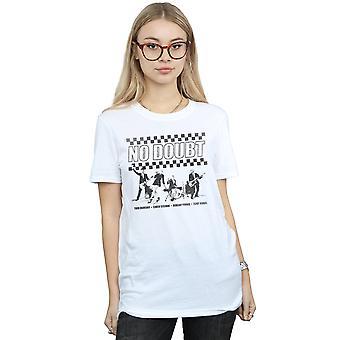 Ongetwijfeld Fit vrouwen Ska Band Boyfriend T-Shirt