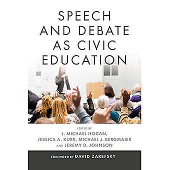 Vortrag und Diskussion als politische Bildung (Rhetorik und demokratischer Deliberation)
