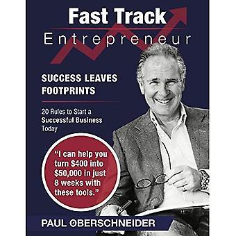 Fast Track ondernemer: Succes laat voetafdrukken