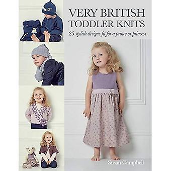 Meget britisk buksetrold strik: 25 klassiske Designs for 1 til 6 årige