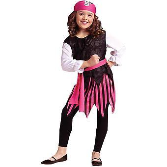 زي القراصنة فتاة في سن المراهقة