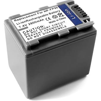 ソニー NP FP90 DCR SR40 DCR DVD92 DCR HC20 DCR HC36 DCR HC40E DCR HC96E DCR SR60 DCR-SR80 用バッテリー