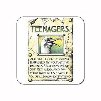 Brugerdefinerede værker - Simon Drew enkelt Coaster - teenagere