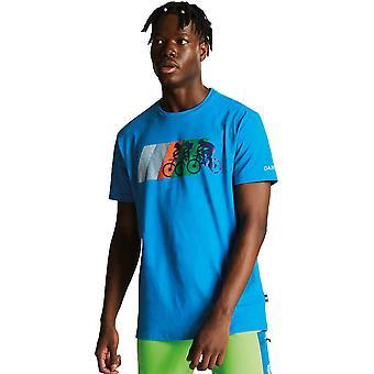 Dare 2 b Herren Dynamik Baumwolle Kurzarm Graphic T-Shirt