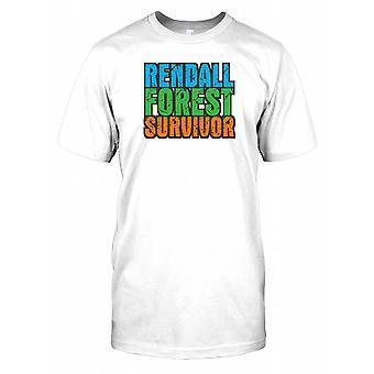 Rendall skov Survivor - sammensværgelse Herre T-shirt