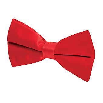 Dobell Mens Red Bow Tie (Pre-Tied & Self-Tie)