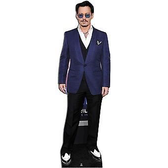 Johnny Depp Lifesize pahvi automaattikatkaisin / seisoja / Standup