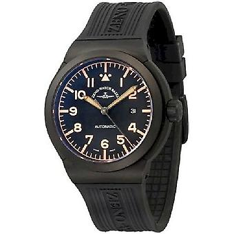 Zeno-watch reloj titanio RAID Navigator 6454N-bk-a15