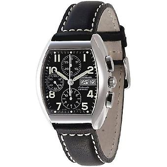 Zeno-watch mens watch tonneau Sapphire chronograph-date 3077TVDD-a1