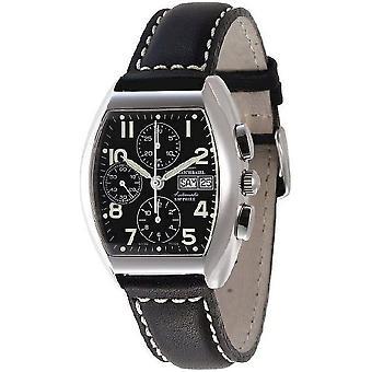 Zeno-Watch Herrenuhr Tonneau Sapphire Chronograph-Date 3077TVDD-a1