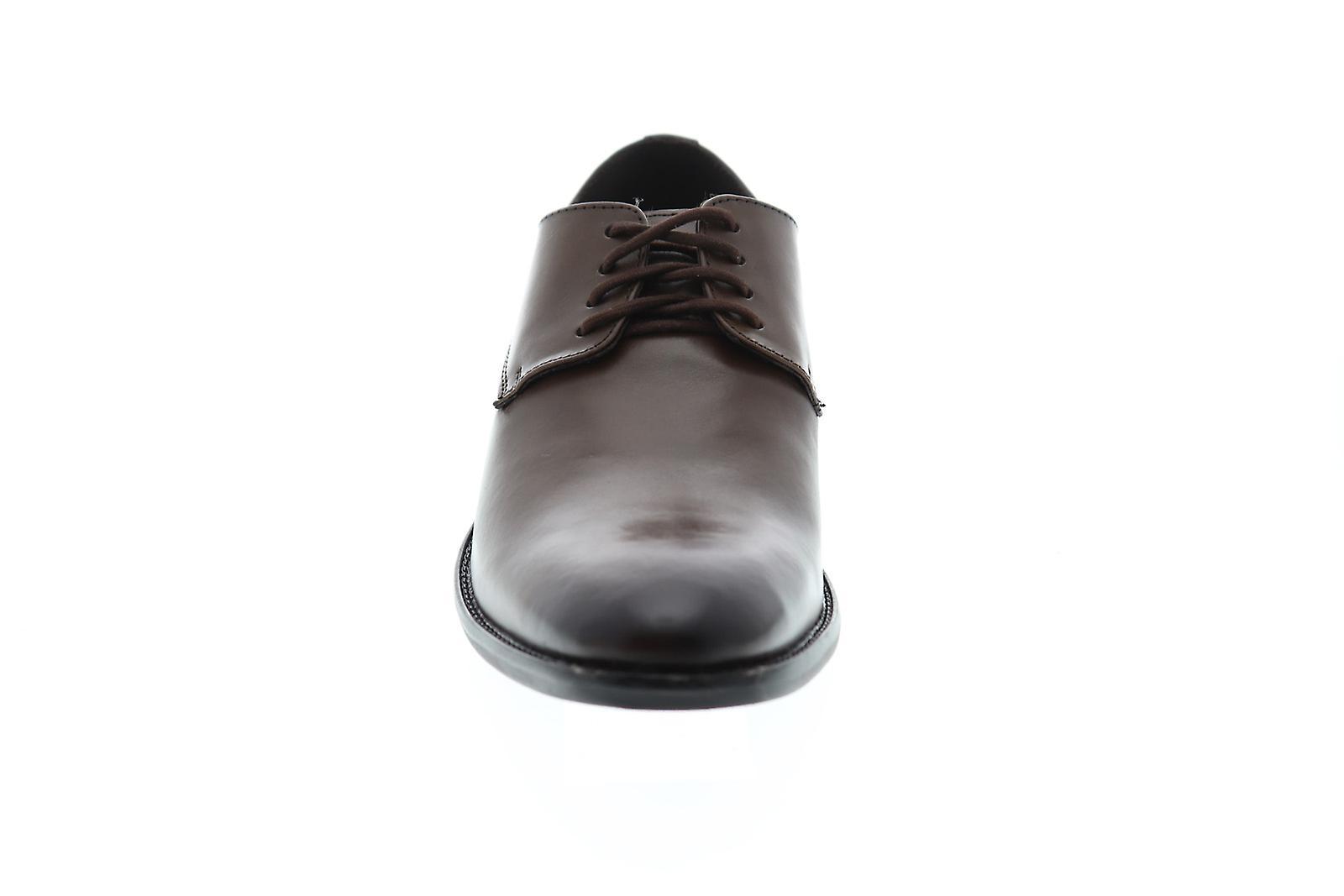 Giorgio Brutini Alton mens Brown läder klänning Lace up Oxfords skor