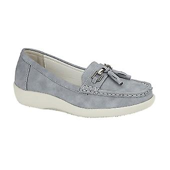Boulevard Womens/Ladies Tassel Loafers