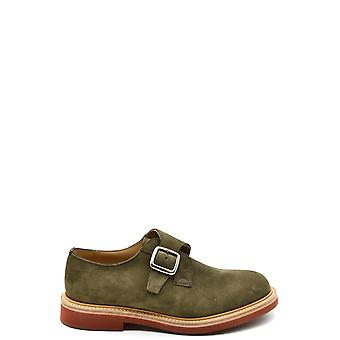 Church's Ezbc004080 Men's Green Suede Loafers