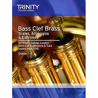 Brass Scales & Exercises - Bass Clef from 2015 - Grades 1 - 8 - 9780857