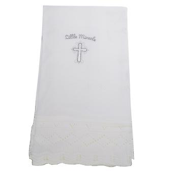 Snuggle Baby Babies Little Miracle Christening Shawl