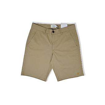 Farah Hawk Garment Dyed Shorts (Light Sand)