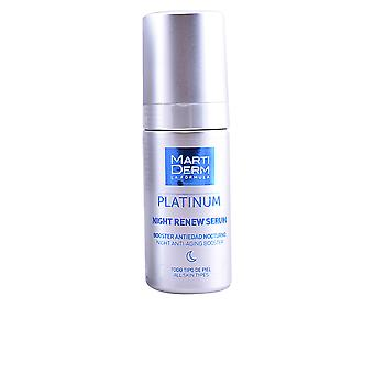 Martiderm Platinum Night renovar soro 30 ml unisex