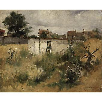 Landschap, Carl Larsson, 50x40cm