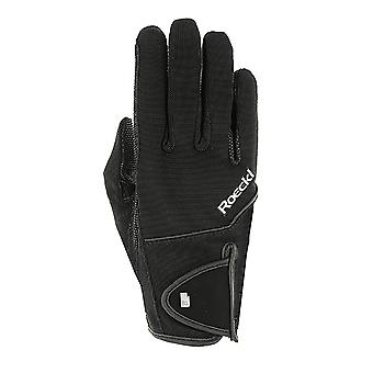 Roeckl Milano Adults Horse Riding Gloves - Black