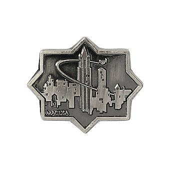 Pin - Fantastic Beast - Macusa City Pewter Lapel Pin New Toys Licensed 48192