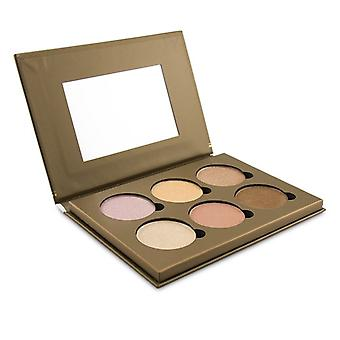 Bellapierre Cosmetics Glowing Palette (6x Illuminator) - 17.28g/0.6oz