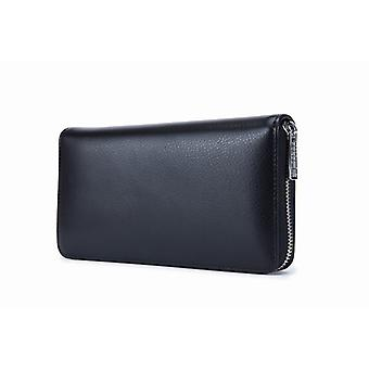 RFID Card holder Genuine leather large-in 3 colors