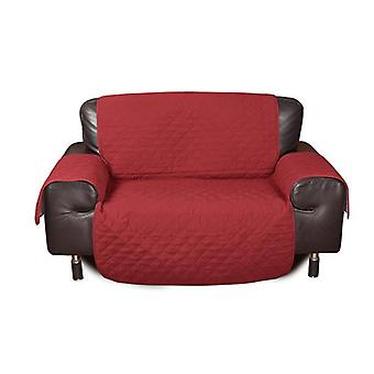 2 Seater Quilted Sofa Protector Throw Furniture Protector Cover