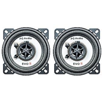 PG Audio EVO II 10.2,2-Wege-Koax, passend für Ford,Opel und Saab