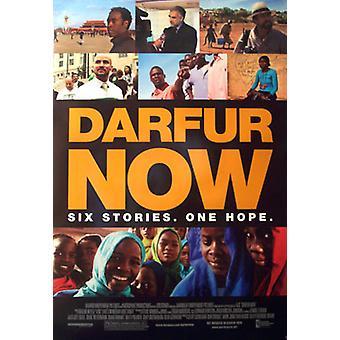 Darfur jetzt (doppelseitig regelmäßig) Original Kino Poster
