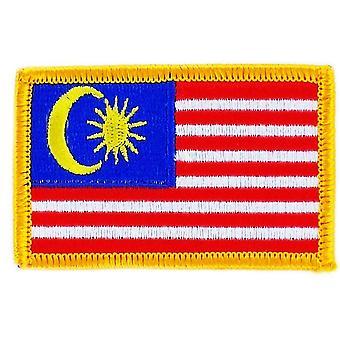 Aufnäher Ecusson Brode Flagge Malaysische randalische Thermocollant Insigne Blason