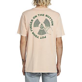 Volcom Push This Short Sleeve T-Shirt in Pink