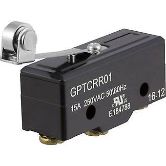 ZF Microswitch GPTCRR01 250 V AC 15 A 1 x On/(On) momentary 1 pc(s)