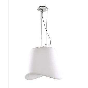 Mantra Cool 3 Light Indoor/Outdoor IP44 Pendant In Opal White
