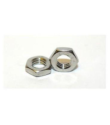 M8 Half Nut A2 Stainless Steel Din439