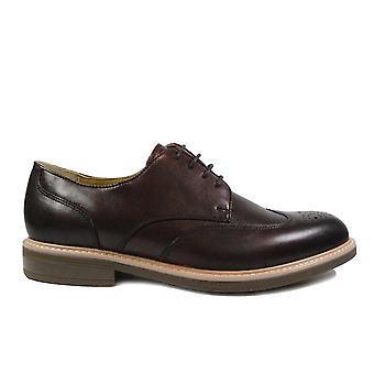 Steptronic George Bordeaux Leather Mens Smart Lace Up Shoes