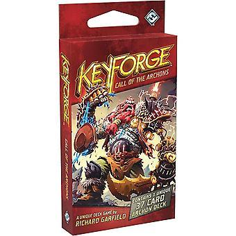KeyForge دعوة من سطح السفينة Archons (حزمة من 12)
