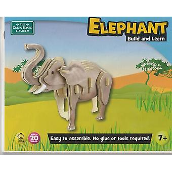 Wooden Puzzle - Elephant by The Green Board Game Company Toy