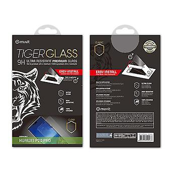 Film For Huawei P20 Pro Screen Protection Tempered Glass Incurvé With Applicator