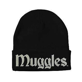 Harry Potter Beanie Hat Muggles new Official Black